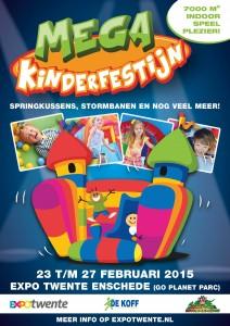 Mega Indoor Kinderfestijn Twente Enschede